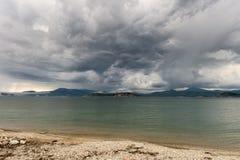 Costa de Rússia Primorsky Krai do mar de japão Imagem de Stock