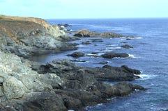 Costa de Rocky Black Sea, Rezovo fotos de archivo