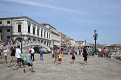 Costa de San Marco en Venecia Foto de archivo libre de regalías