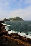 Costa de San Sebastian Fotografía de archivo libre de regalías
