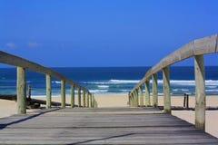 Costa de Sandy Fotografia de Stock
