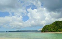 Costa de Siargao Imagens de Stock Royalty Free
