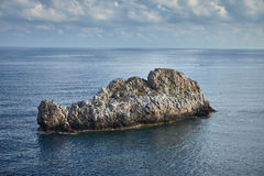 Costa de Sicilia foto de archivo libre de regalías