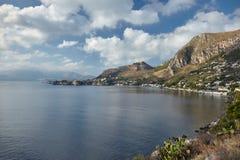 Costa de Sicilia imágenes de archivo libres de regalías