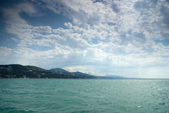 Costa de Sochi fotos de stock royalty free