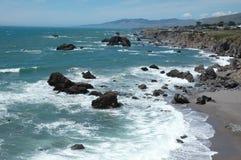 Costa de Sonoma Fotos de archivo libres de regalías