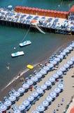 Costa de Sorrento, Amalfi, Italia Imagen de archivo