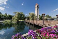Costa de Spokane Fotos de archivo