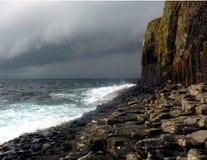 Costa de Staffa Imagens de Stock