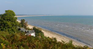 Costa de Studland e baía Dorset Inglaterra Reino Unido perto de Swanage e de Poole Foto de Stock