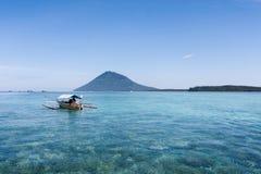 Costa de Sulawesi Imagenes de archivo