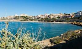 Costa de Tarragona na mola Fotos de Stock Royalty Free