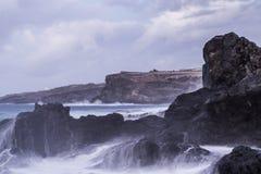 Costa de Tenerife Fotos de archivo libres de regalías