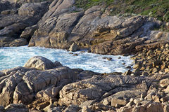 Costa de Torndirrup fotografia de stock royalty free