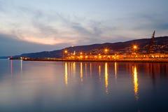 Costa de Trieste Foto de archivo
