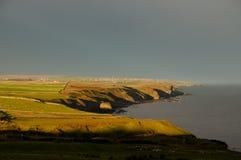 Costa degli altopiani - Scozia Fotografia Stock Libera da Diritti