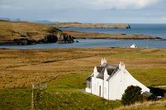 Costa degli altopiani - Scozia Immagini Stock