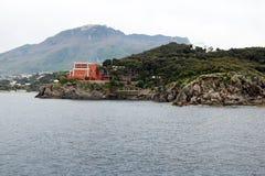 Costa degli ischi fotografie stock libere da diritti