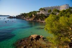 Costa del Balearic Island di Mallorca Fotografie Stock Libere da Diritti