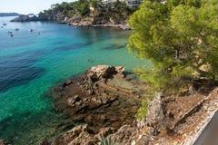 Costa del Balearic Island di Mallorca Fotografie Stock