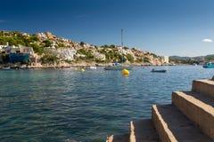 Costa del Balearic Island di Mallorca Immagini Stock Libere da Diritti