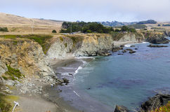 Costa del Bodega Fotografia Stock