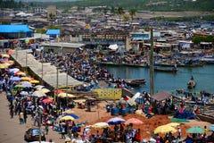 Costa del cabo de Ghana del castillo de Elmina Imagen de archivo