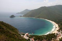 Costa del Caribe venezolana Imágenes de archivo libres de regalías