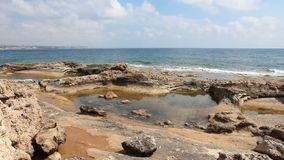 Costa del Cipro stock footage