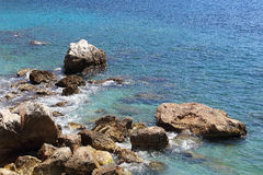 Costa del d'Azur de CÃ'te Fotografía de archivo