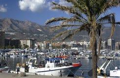 costa del Fuengirola zol Spain Fotografia Royalty Free