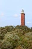 Costa del holandés del faro foto de archivo libre de regalías