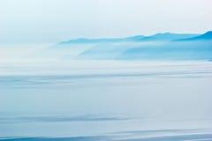 Costa del lago Baikal Fotografia Stock
