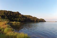 Costa del lago Diane fotos de archivo