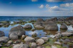 Costa del Mar Baltico nelle vacanze estive Fotografia Stock