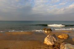 Costa del mar Mediterráneo Imagen de archivo