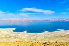 Costa costa del mar muerto imagen de archivo libre de regalías