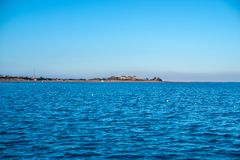 Costa del Mar Rosso in Sharm el-Sheikh fotografie stock