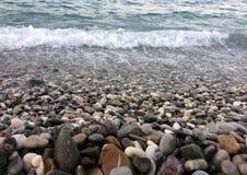 Costa del mare Immagini Stock Libere da Diritti