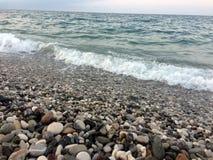 Costa del mare Fotografie Stock