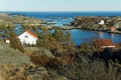Costa del Mare del Nord, Norvegia Immagini Stock