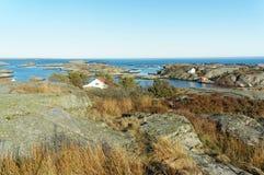 Costa del Mare del Nord, Norvegia Immagine Stock Libera da Diritti