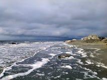 Costa del mare Glaciale Artico Immagini Stock Libere da Diritti