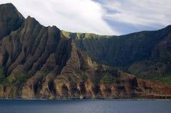 Costa del Na Pali fotografía de archivo libre de regalías