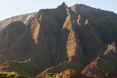 Costa del Na Pali, Kauai Fotos de archivo libres de regalías