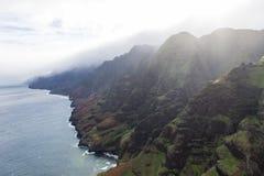 Costa del Na Pali - Kauai, Hawai Fotografia Stock