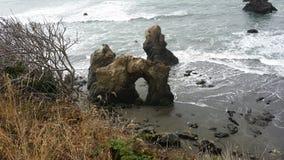 Costa del Nord Fotografia Stock