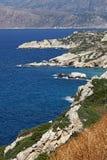 Costa del norte, Crete, Grecia fotos de archivo libres de regalías