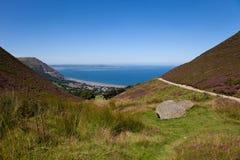 Costa del norte de País de Gales Fotos de archivo libres de regalías