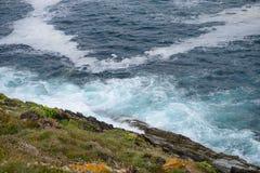 Costa del océano Fotografía de archivo